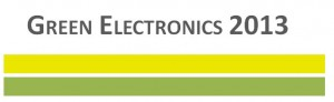 Green Electronics 2013 logo