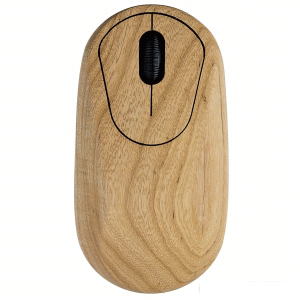 Description: 3D USB Optical mice made of solid ash wood